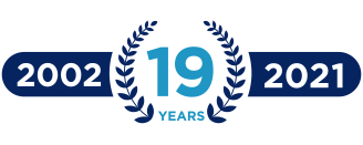 19-years-badge